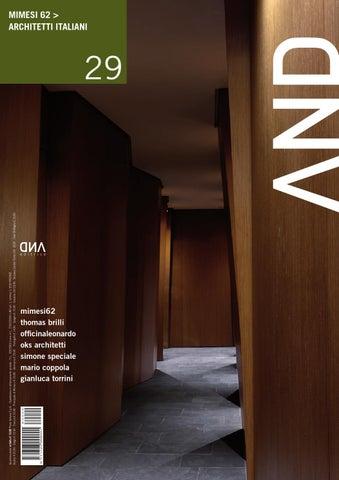 And 29 Mimesi62 Architetti Italiani By And Architettura Issuu