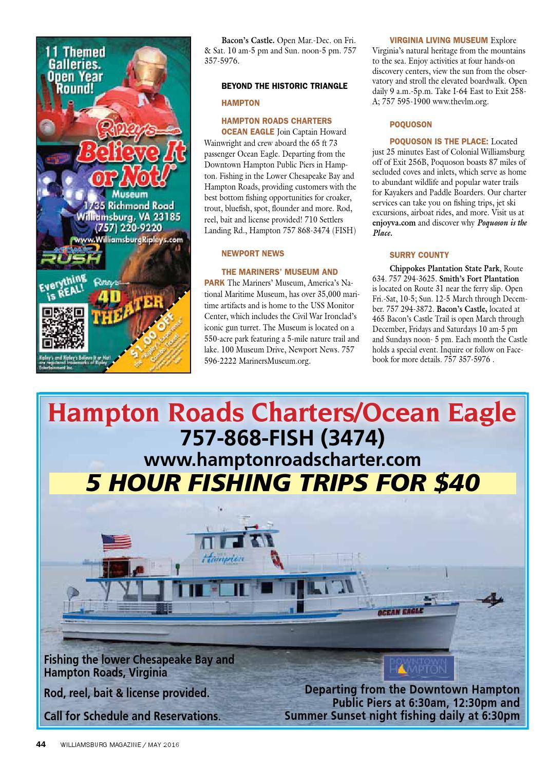 May 2016 Williamsburg Magazine by The Virginia Gazette - issuu