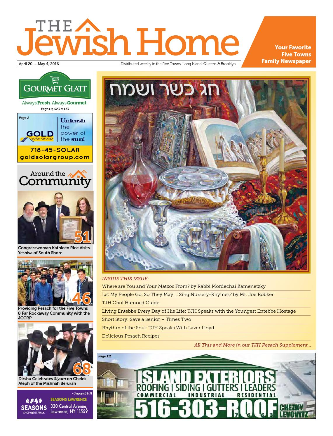 Five Towns Jewish Home - 4-20-16 by Yitzy Halpern - issuu