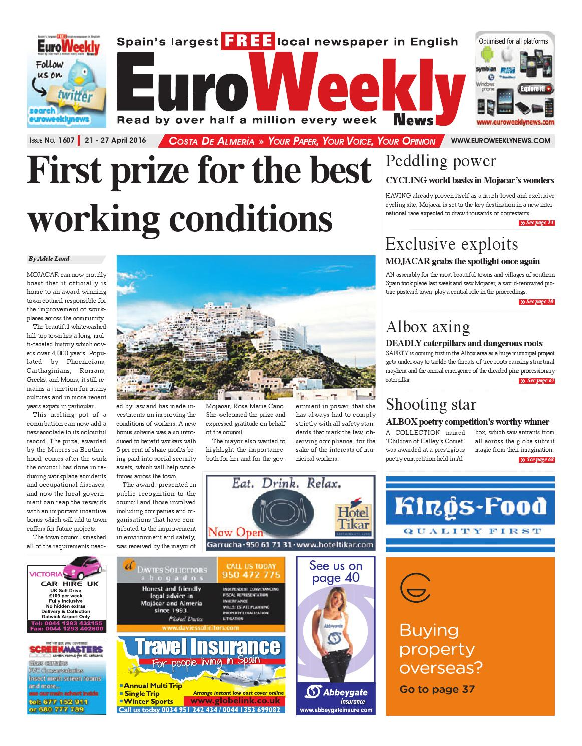Tomato marmande agm seeds d t brown vegetable seeds - Euro Weekly News Costa De Almeria 21 27 April 2016 Issue 1607 By Euro Weekly News Media S A Issuu
