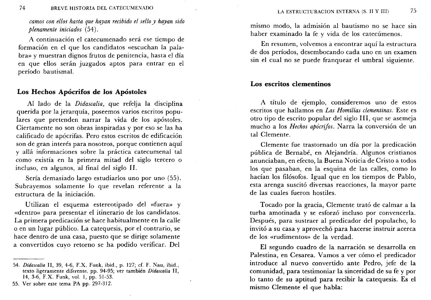 Breve Historia Del Catecumenado By Alex Molina Issuu