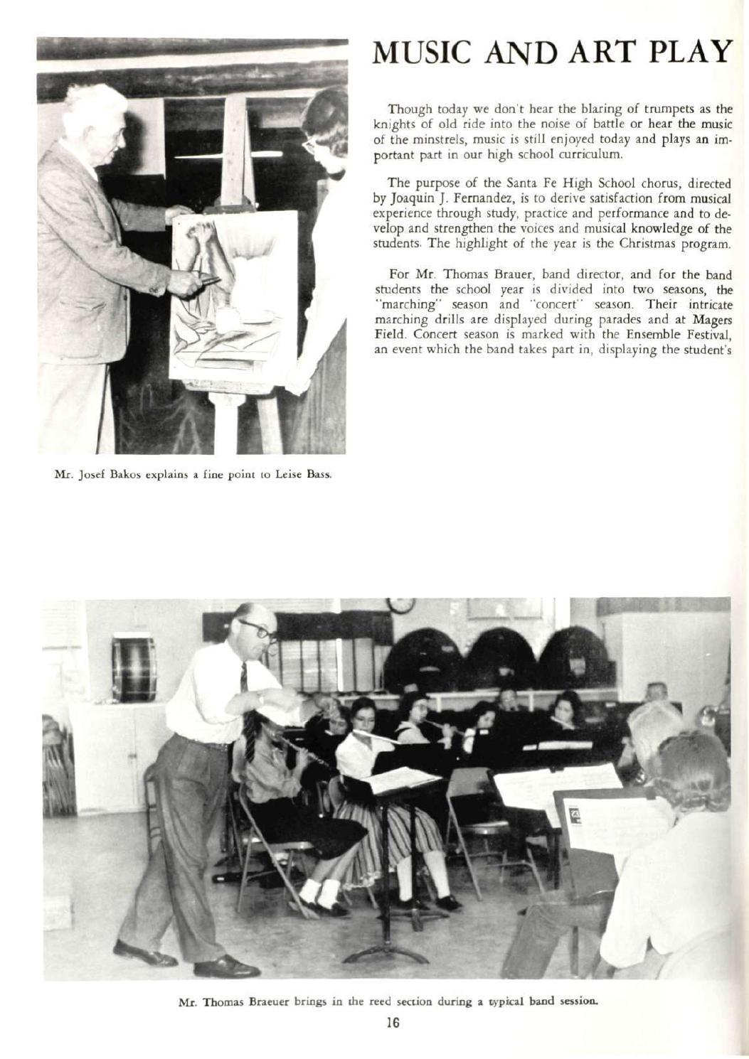 Santa Fe High School Yearbook- 1959 by Santa Fe High School ...