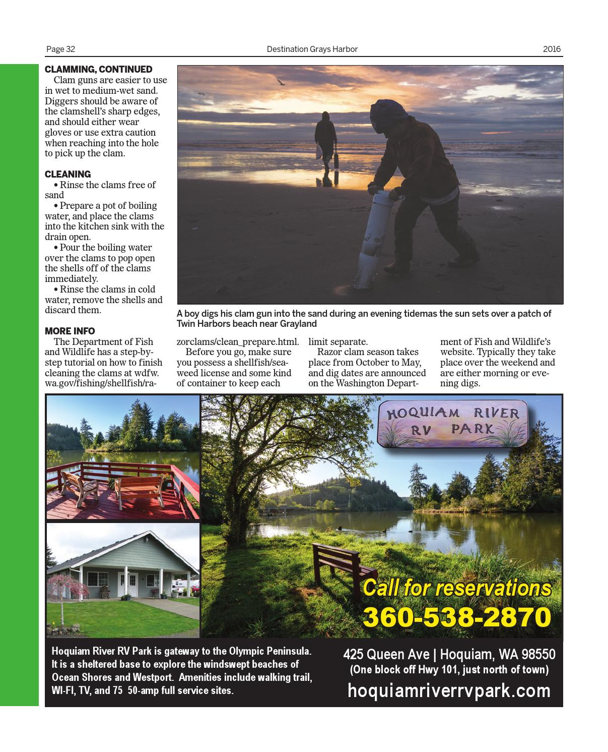 Clam Diggers Pot And A Failed Marriage Proposal: Destination Grays Harbor