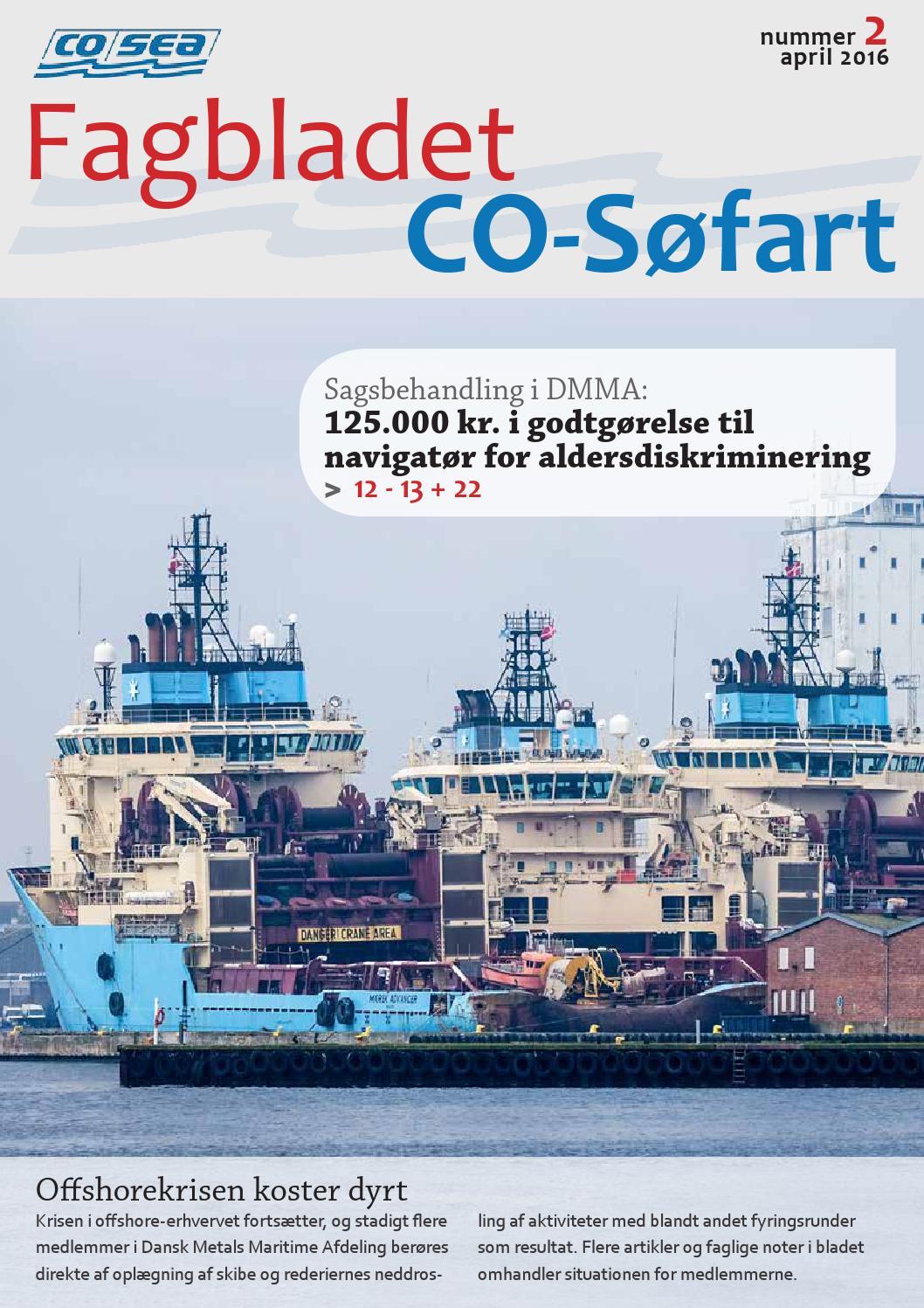 Fagbladet CO-Søfart 2, 2016 by CO-Sea - Issuu