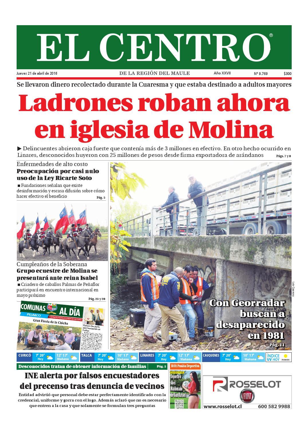 Diario 21-04-2016 by Diario El Centro S.A - issuu 86907250aea