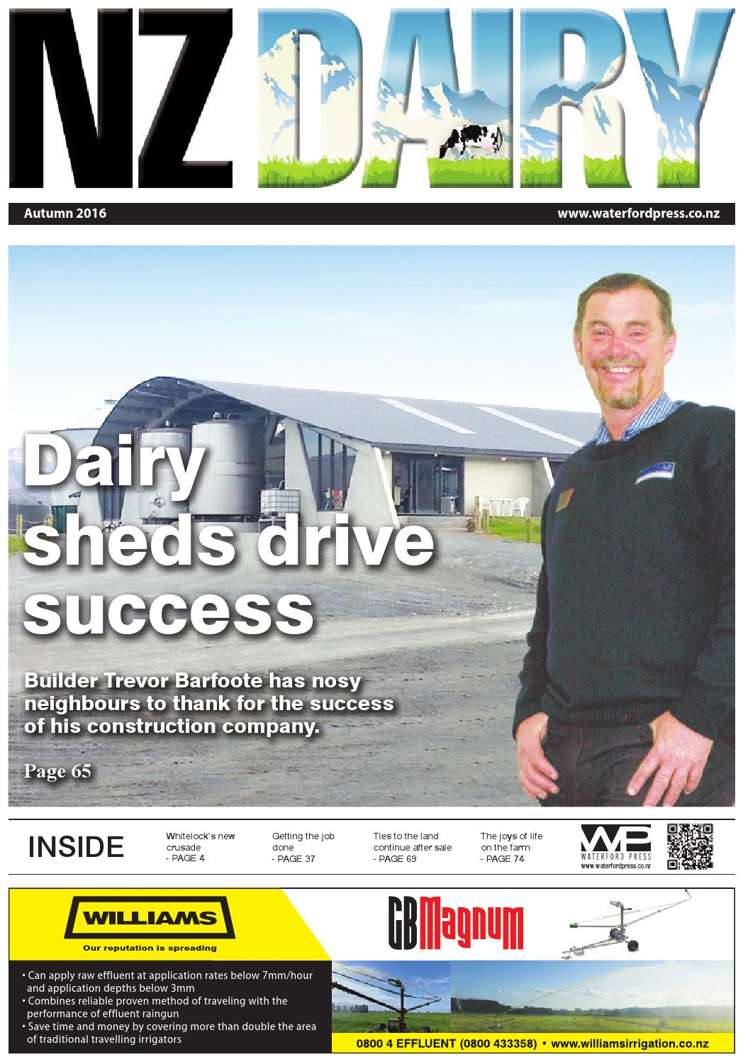 Nz Dairy 2016 Autumn Issue By Waterford Press Limited Issuu Tv Wiring Hamilton Uhf Antenna Aerial Installers Waikato
