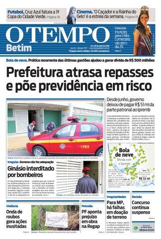 O Tempo Betim 21 04 2016 by Tecnologia Sempre Editora - issuu 47c04ba657c43
