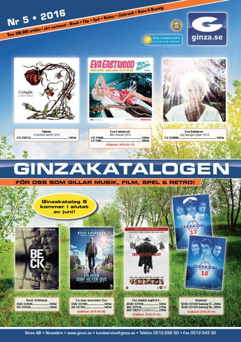 Ginzakatalogen nr 5 2016 by Ginza AB - issuu ced61e9fe660b