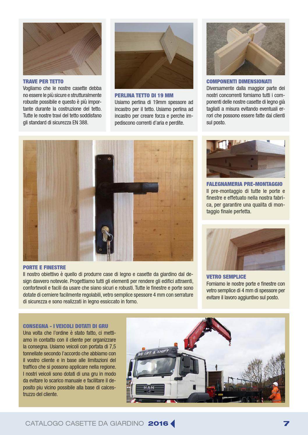 Accessori Per Casette Da Giardino.Eagle Buildings Catalogo Casette Da Giardino 2016 By Engineer