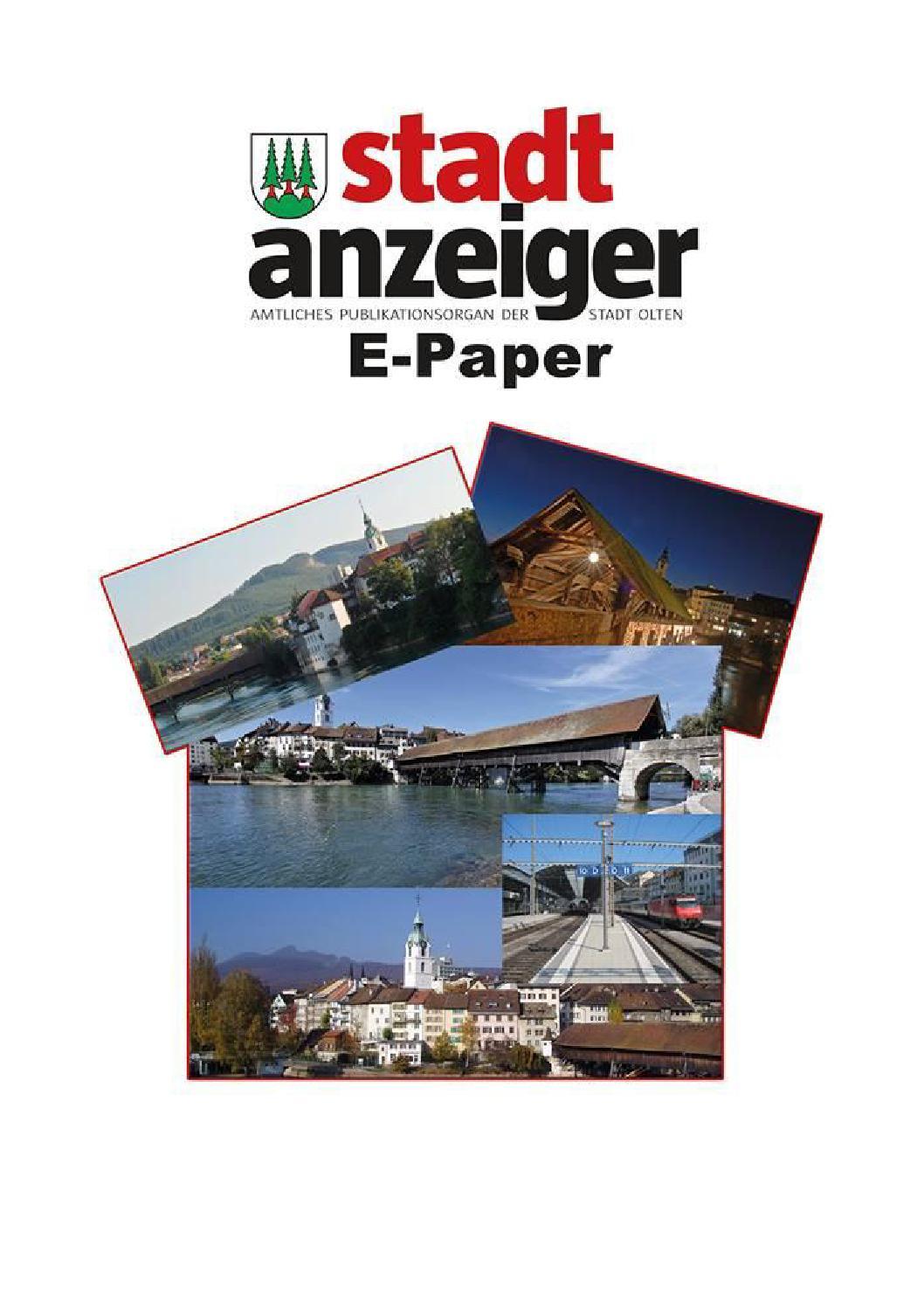 Stadtanzeiger Olten Ausgabe 16 (21 April 2016) by Stadtanzeiger ...