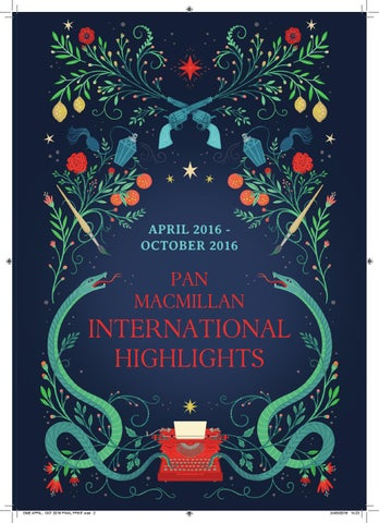 Pan Macmillan OME Highlights April 2016 To October By