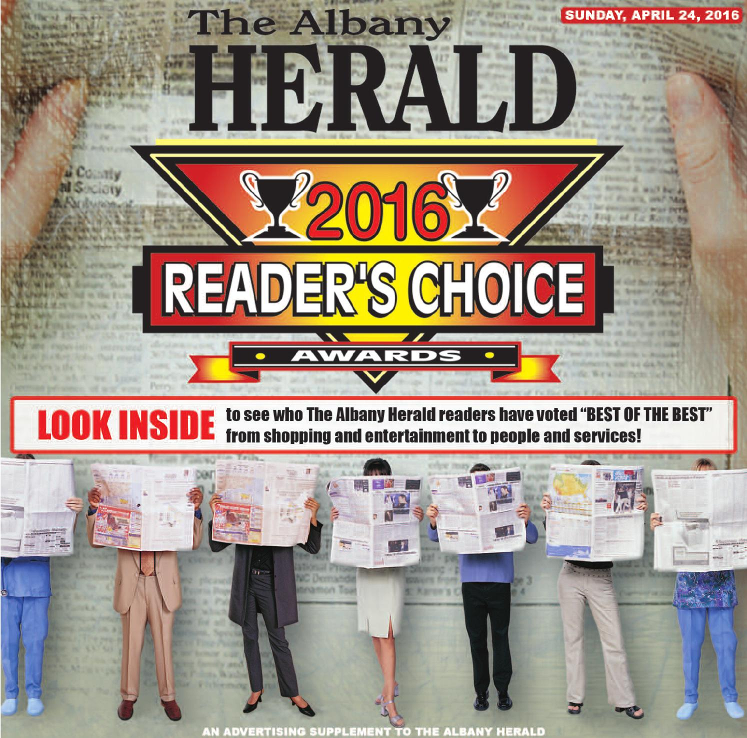 Leesburg Auto Import >> Readers Choice 2016 by Albany Herald - Issuu