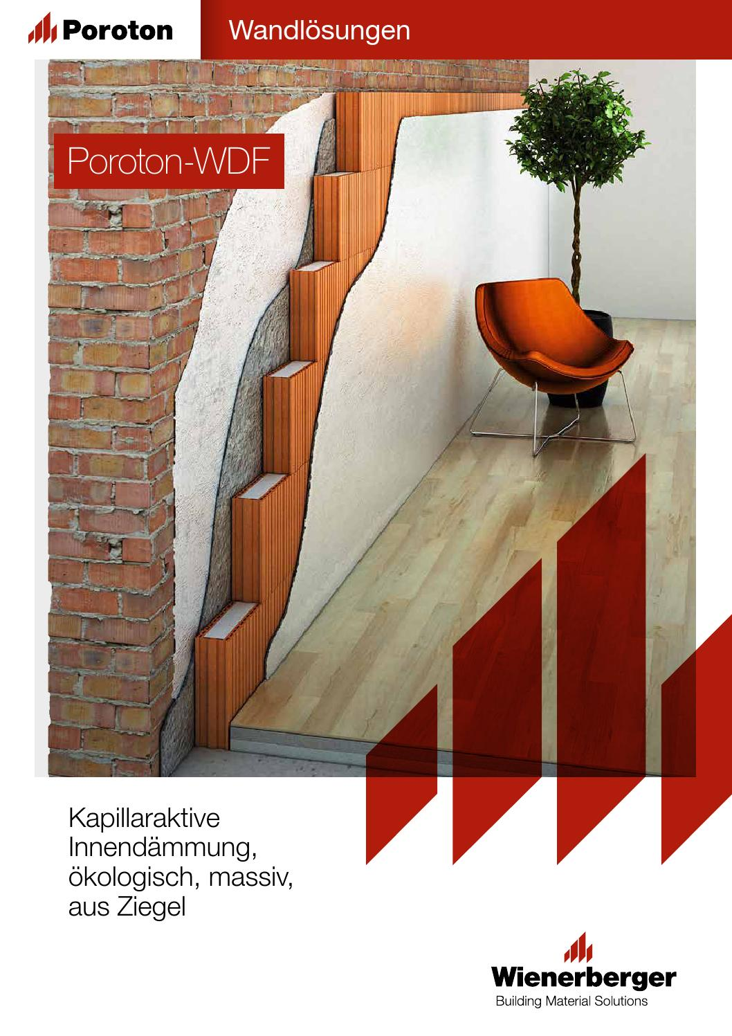 Brosch Re Poroton Wdf By Wienerberger Ag Issuu