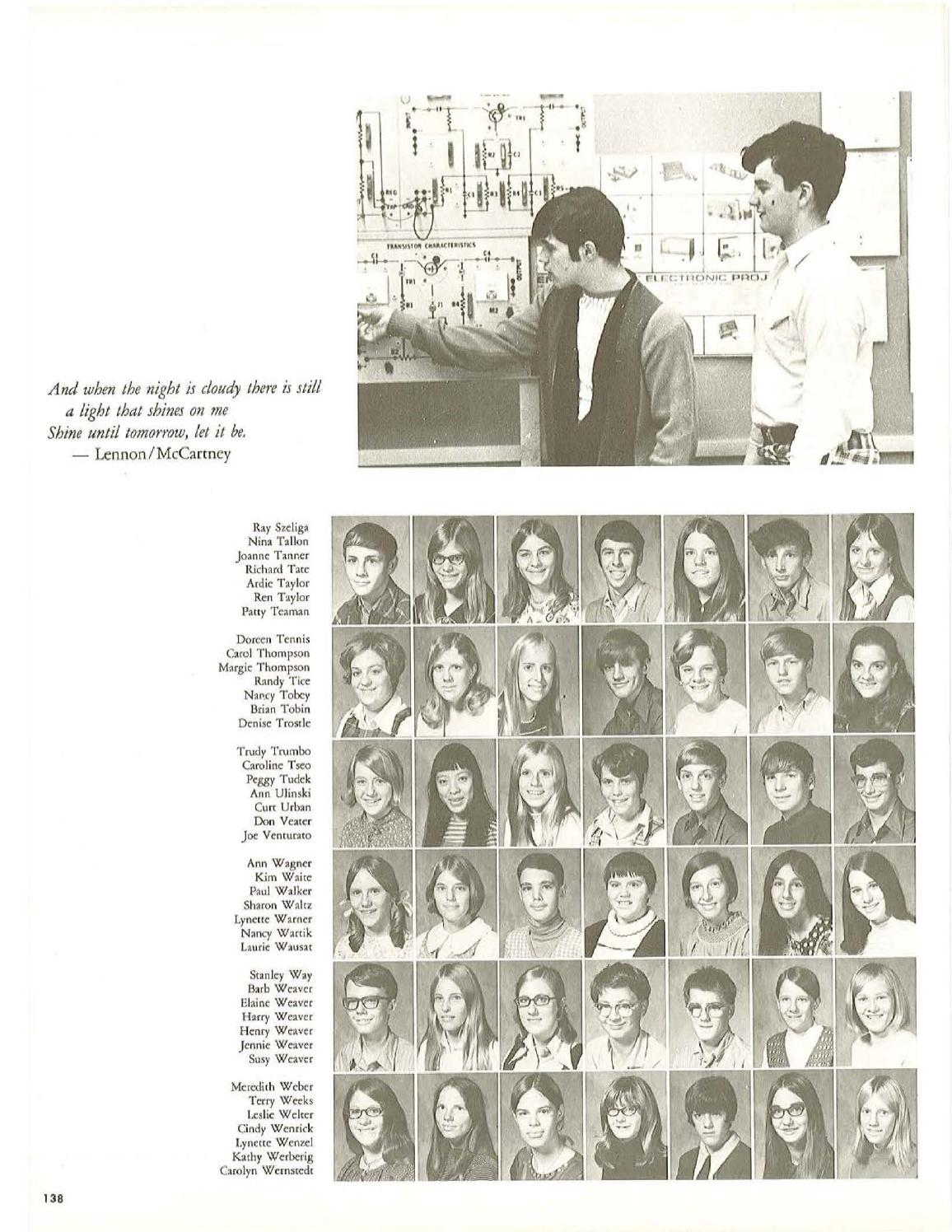 1971 Yearbook by Affinity Connection - issuu