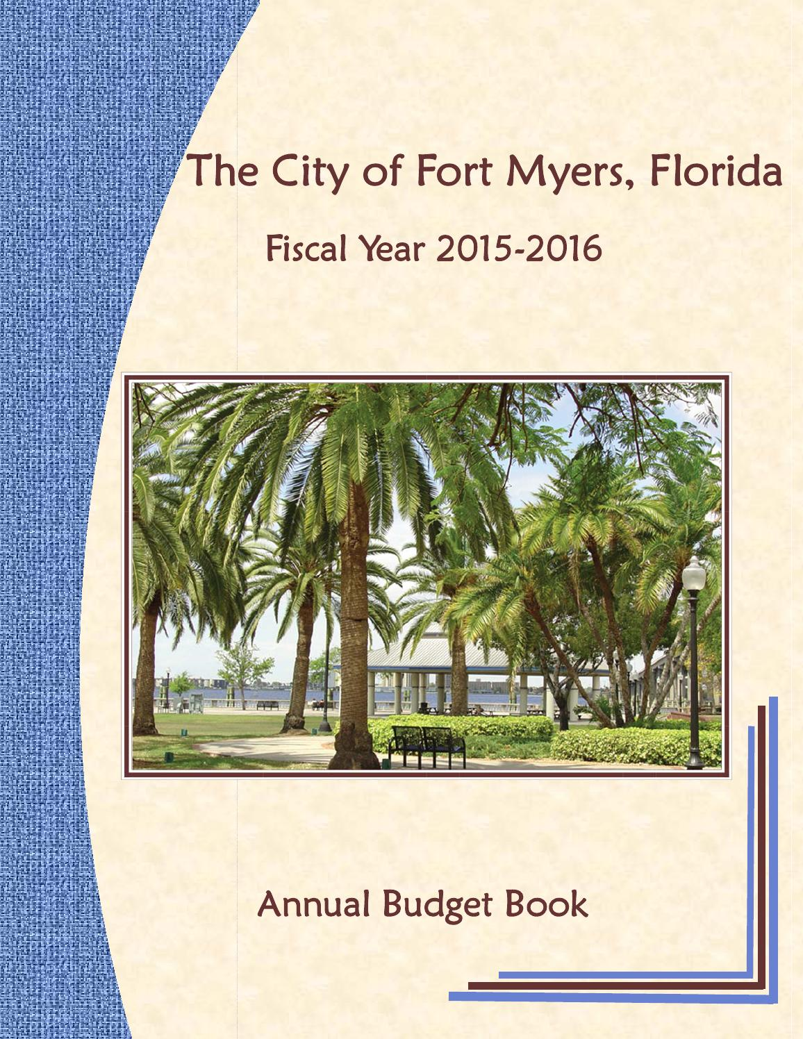 Fort Myers Annual Budget FY 2015 - 2016 by Fort Myers