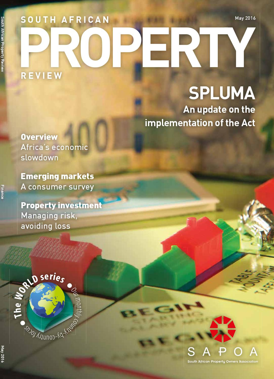 South African Property Review May 2016 By Sapoa Issuu Electrical Wiring Certificate Africa
