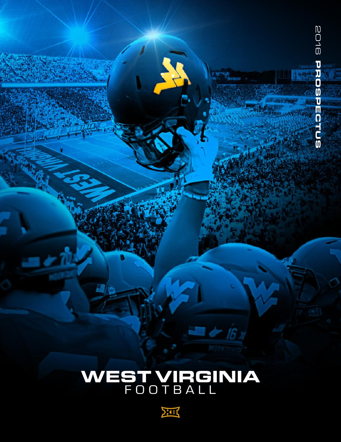 2016 WVU Football Prospectus by Joe Swan - Issuu