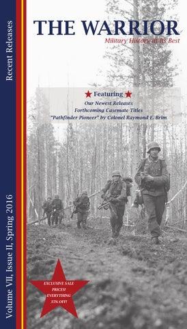 Warrior 17 Catalog By Casemate Publishers Ltd Issuu