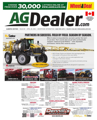 Wheel Amp Deal Alberta April 11 2016 By Farm Business