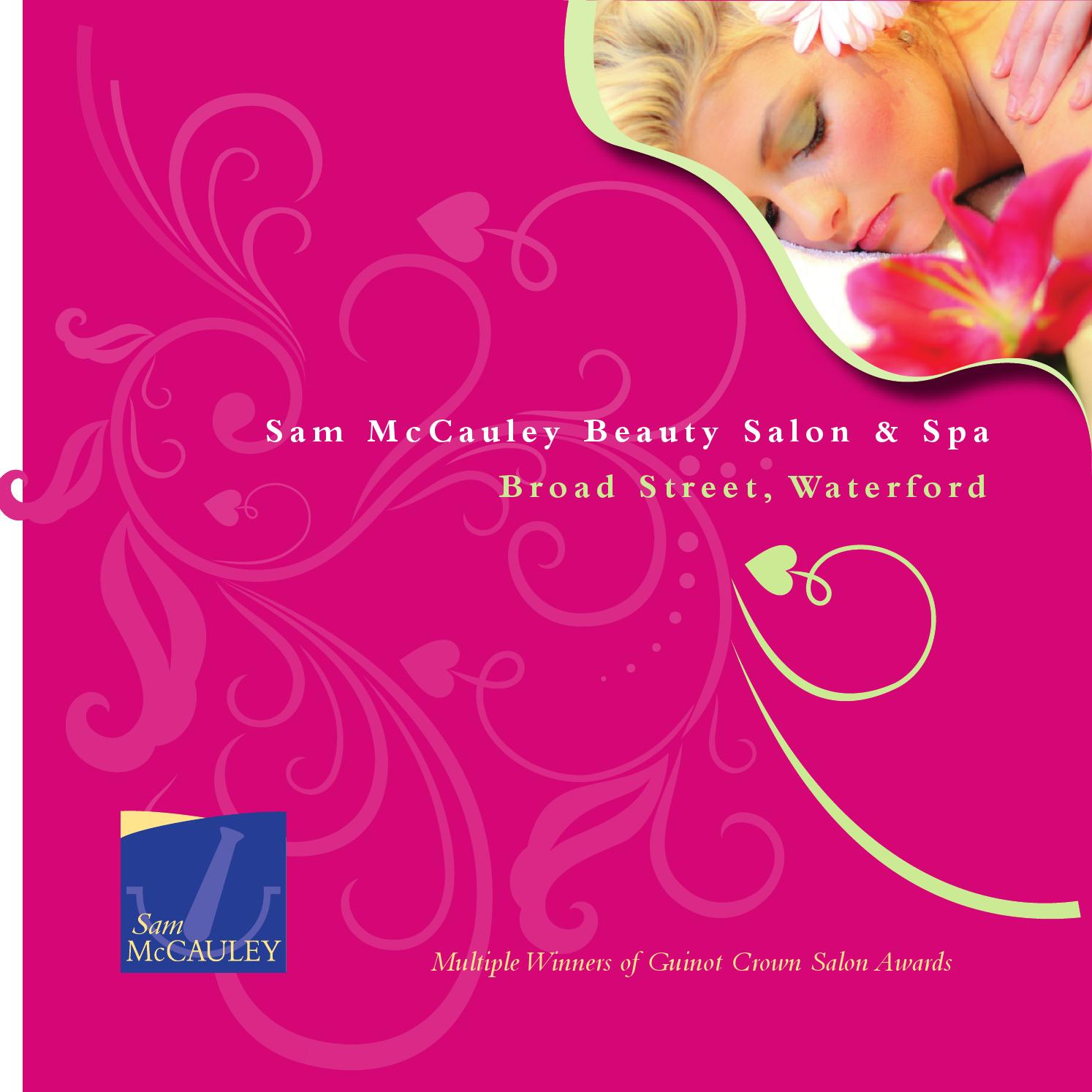 4905ae9a562 Sam McCauley Beauty Salon Broad St, Waterford by Sam McCauley Chemists -  issuu