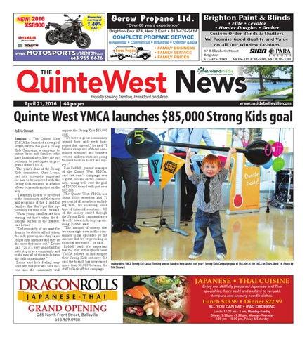 Quinte042216 by Metroland East - Quinte West News - issuu e810b6ebcb335