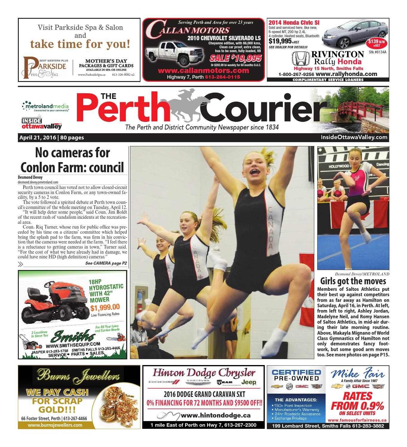 Perth042116 by metroland east the perth courier issuu fandeluxe Choice Image