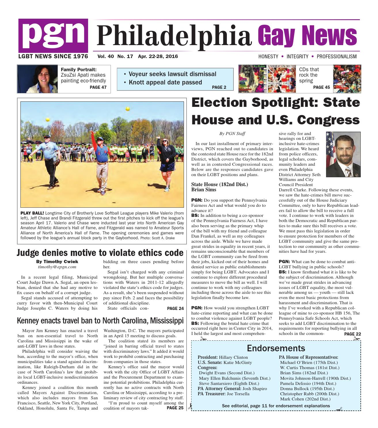 PGN April 22-18, 2016Pgn042216 by The Philadelphia Gay News - issuu