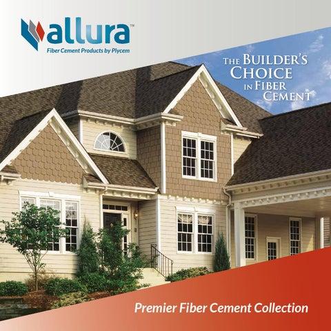Allura Premier Fiber Cement Siding Brochure 2016 By Meek S