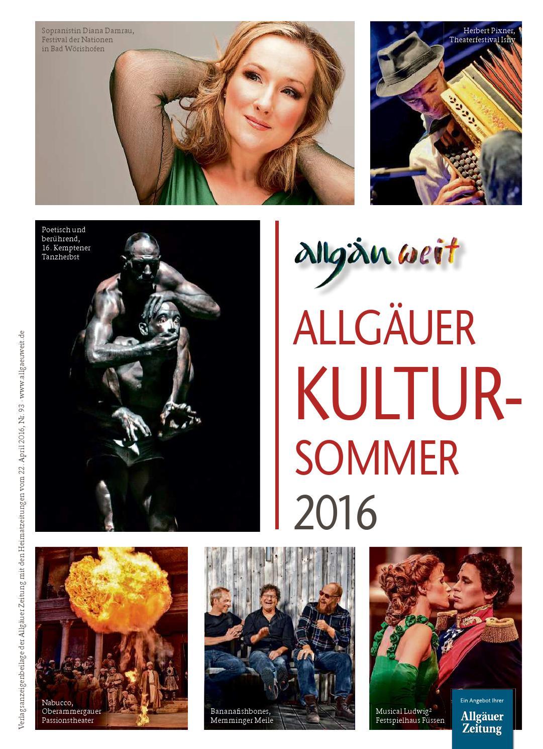 Allgäuer Kultursommer vom Freitag, 22. April by rta.design GmbH - issuu