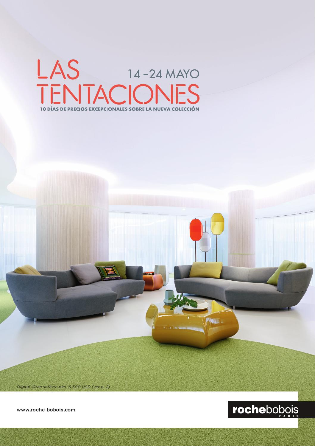 las tentaciones 14 24 mayo 2016 by roche bobois m xico issuu. Black Bedroom Furniture Sets. Home Design Ideas