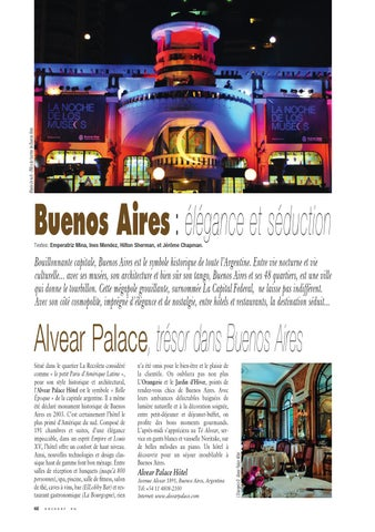Page 62 of BUENOS AIRES: Alvear Palace