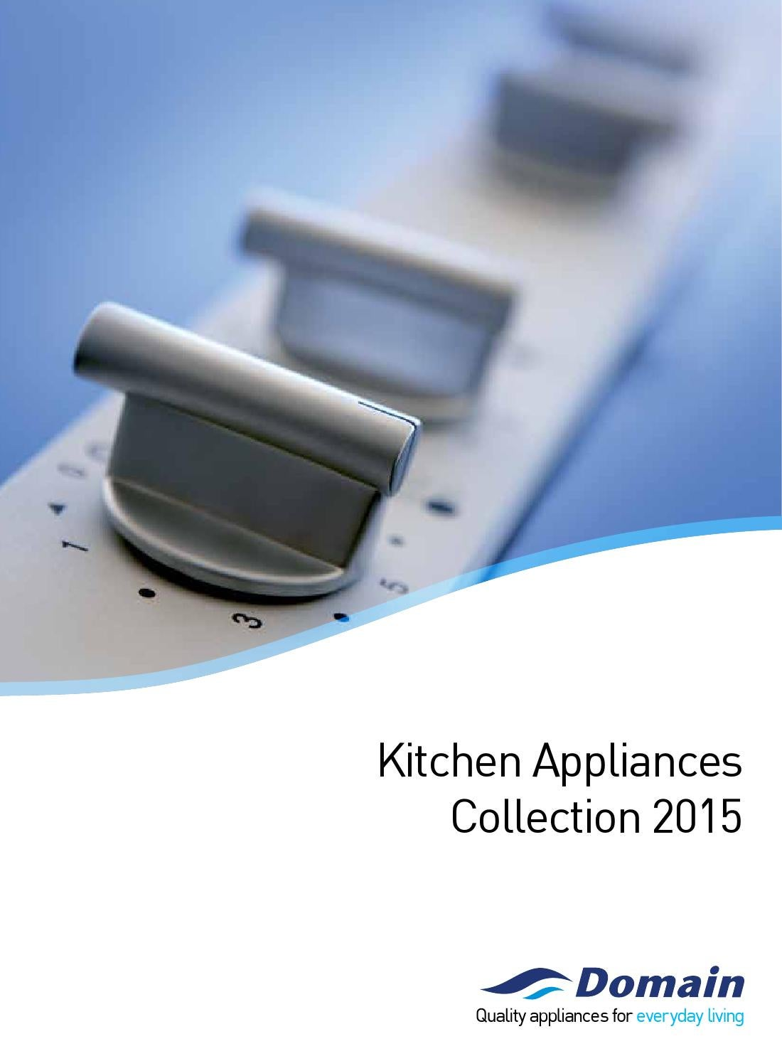 Uncategorized Domain Kitchen Appliances kitchens u build domain appliances by issuu