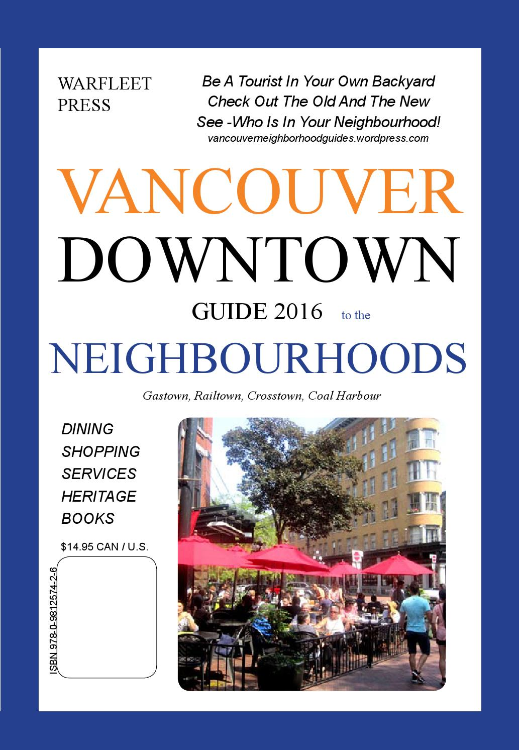 Vancouver Downtown Guide 1-2016 by Vancouver Neighborhood Guides - issuu