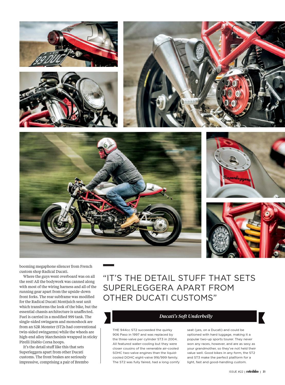 Rcbe 22 Autumn 2016 By Retrobike Official Issuu Ducati 999 Wiring Harness