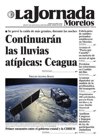 La Jornada Morelos Abril 22 By Gerardo Barreto Issuu