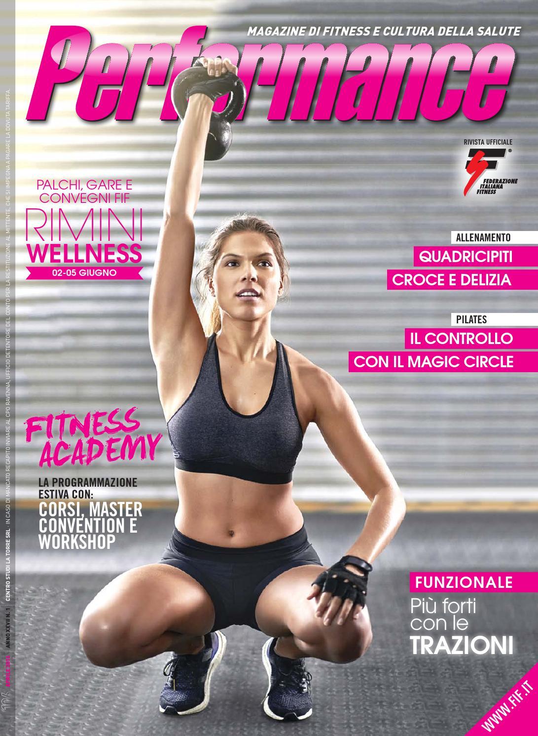 abbastanza Performance 01-2016 by Federazione Italiana Fitness - issuu XH19