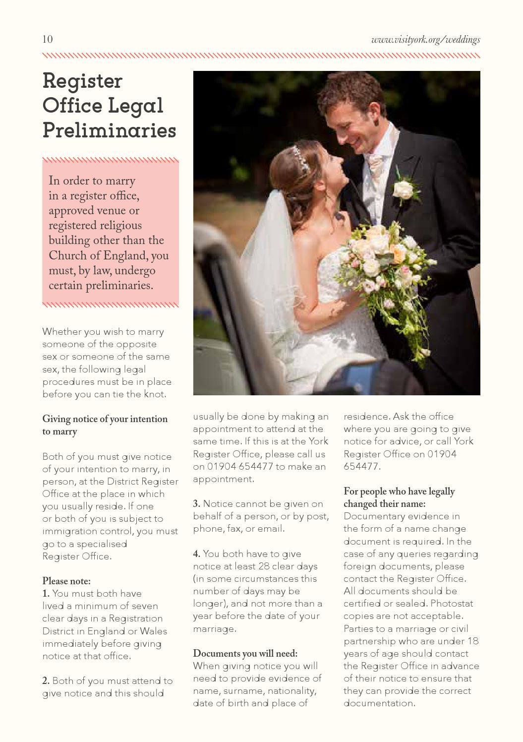 York Wedding Guide 2016/17 by Visit York - issuu