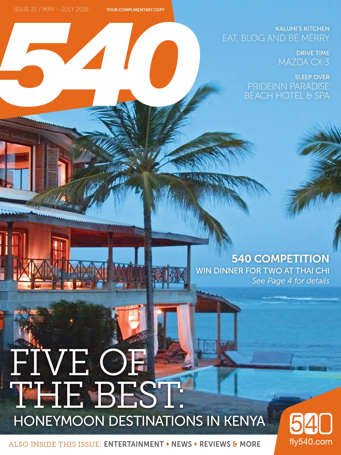 540 Magazine – Issue 21, May 2016 by Land & Marine Publications Ltd ...