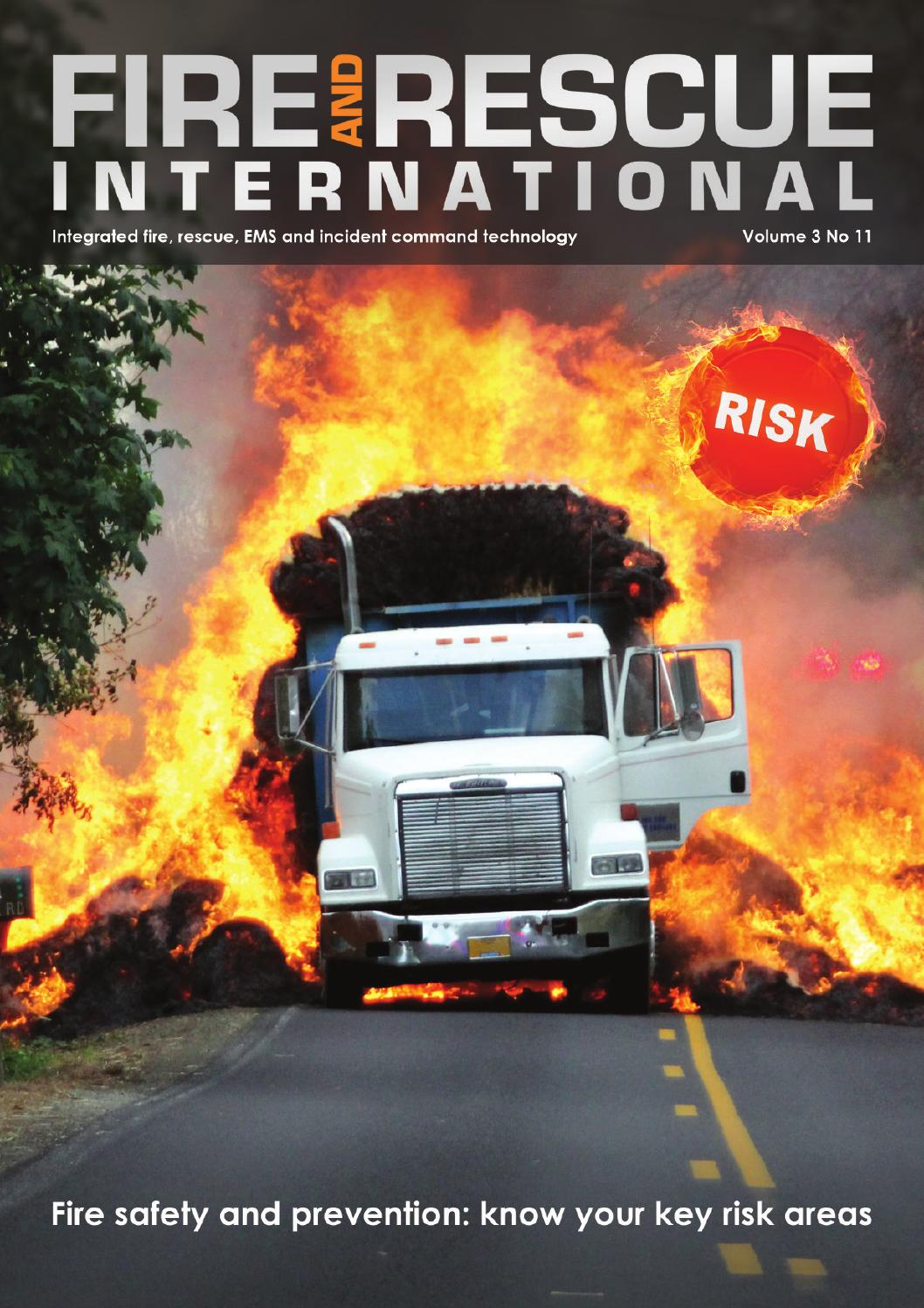 Fire and Rescue International Vol 3 No 11 by Fire and Rescue International  - issuu