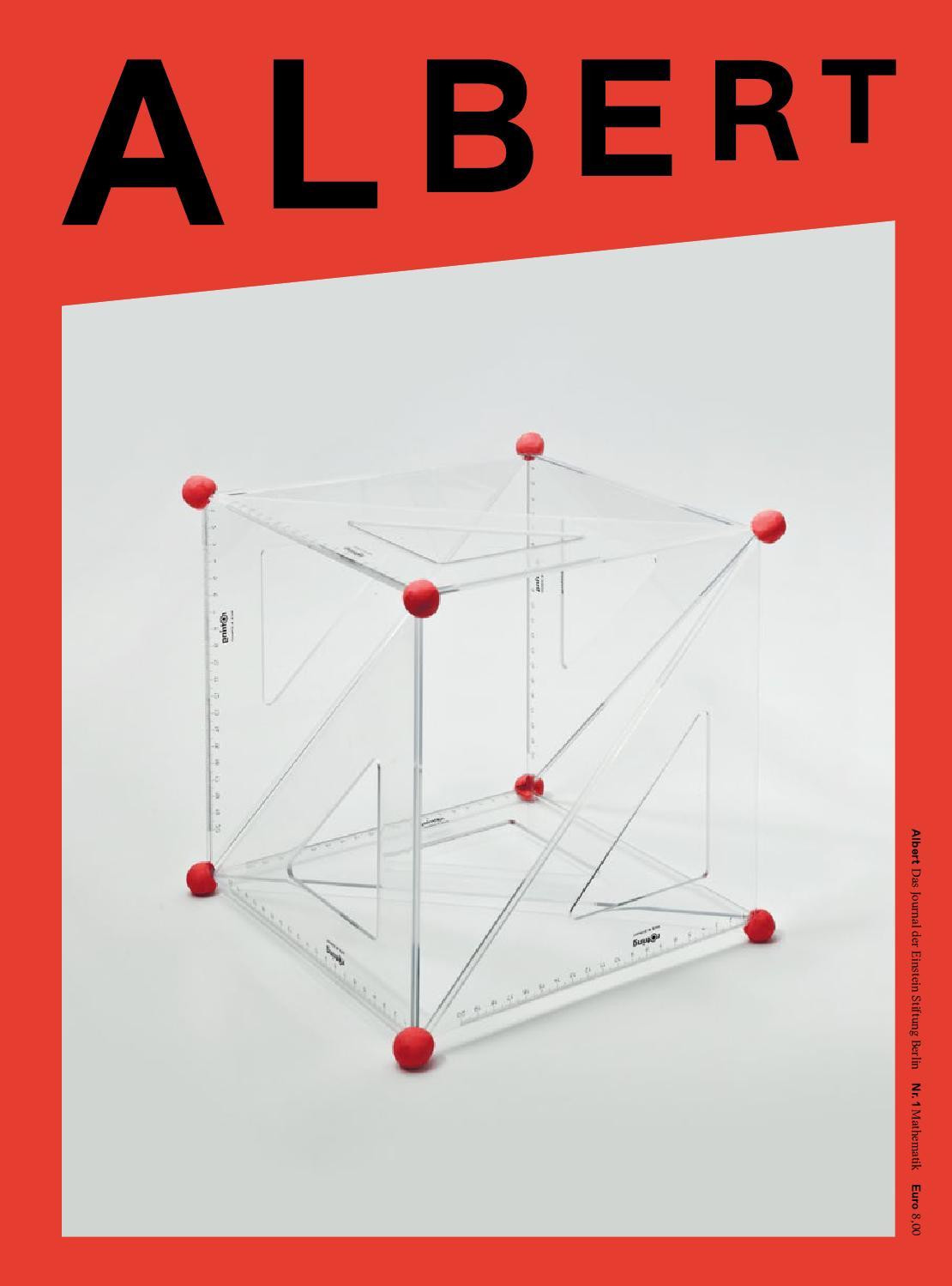 Albert #1 - Mathematik by Julia Walter - issuu