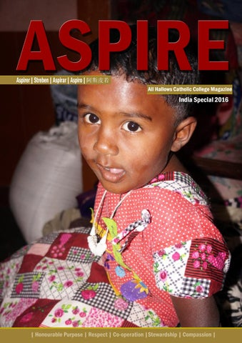 India Aspire 2016 by All Hallows Catholic College - issuu