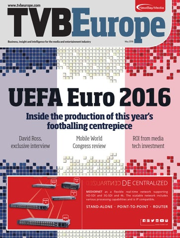 Tvbe may 2016 by Future PLC - issuu