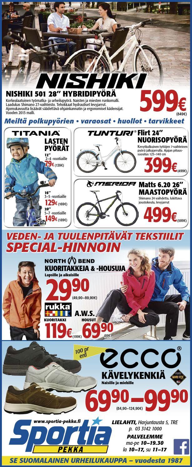 Spekka al 2304 4 by Sportia-Pekka Sportia-Pekka - Issuu