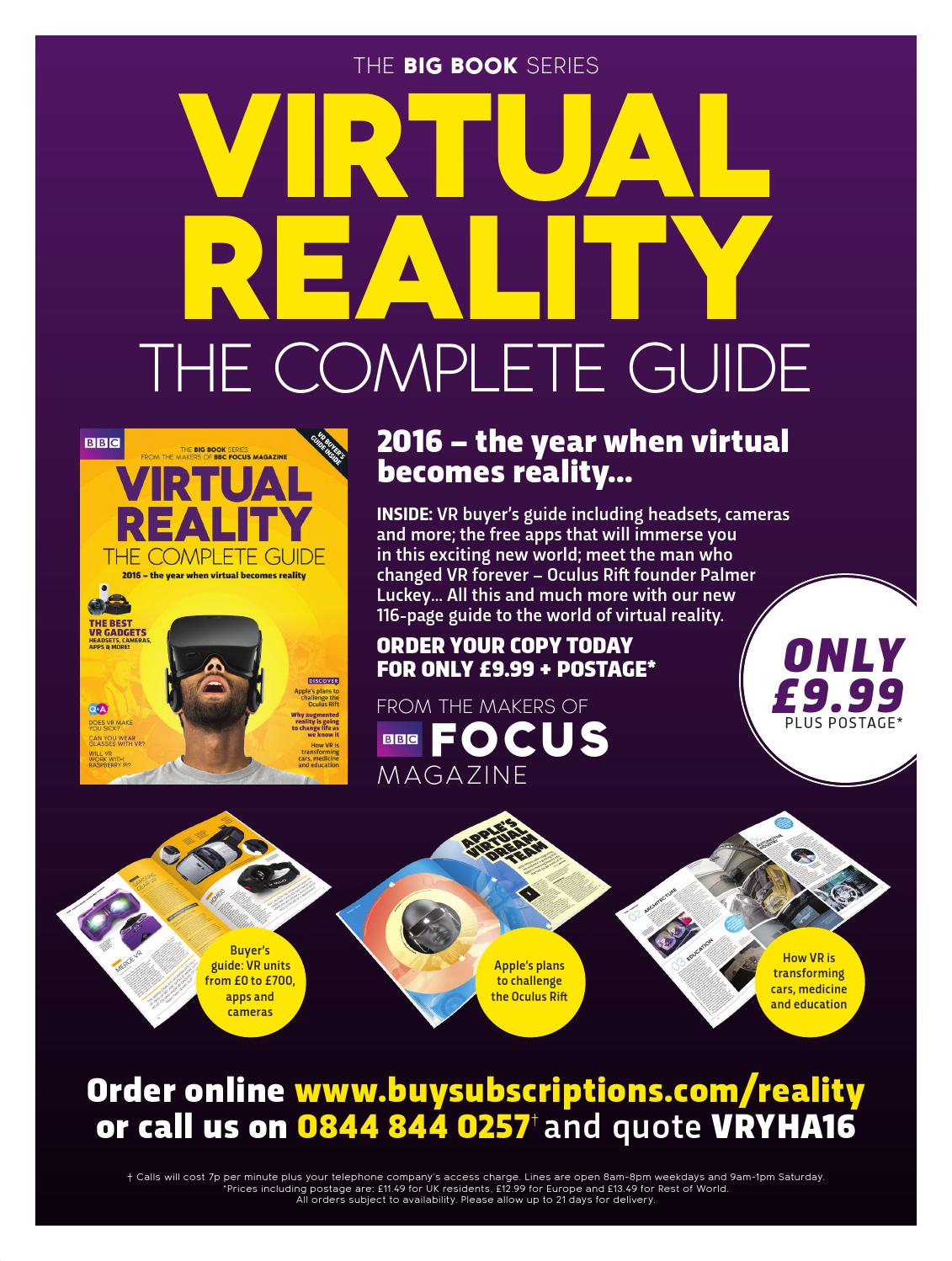 Virtual Reality - The Complete Guide sampler by Immediate