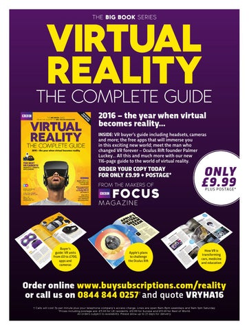 05aa0c01562f Virtual Reality - The Complete Guide sampler by Immediate Media Co ...