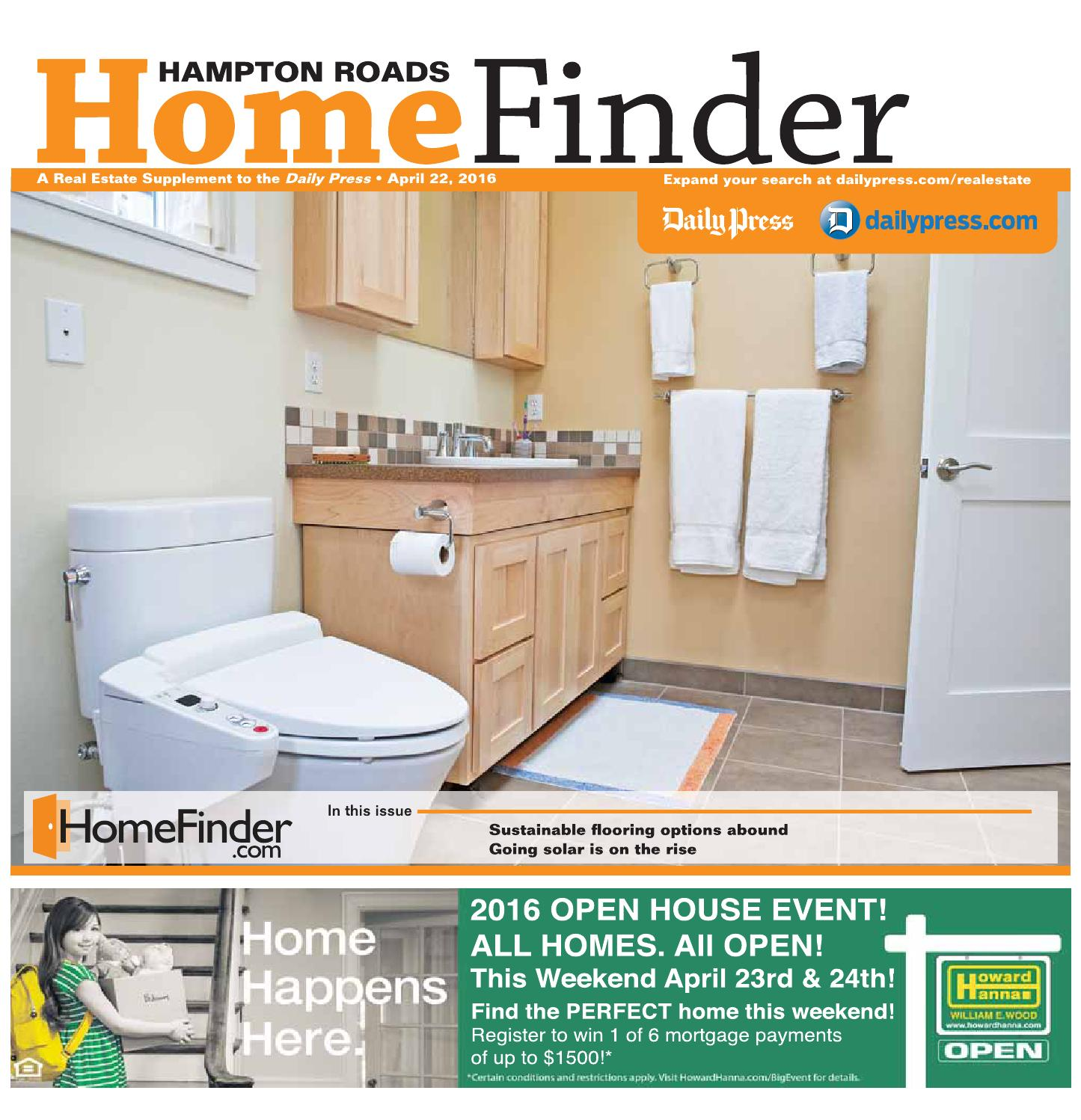 Home Finder For Rent: April 22, 2016 By Daily Press Media Group