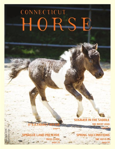 Connecticut Horse May/June 2016 by Community Horse Media - issuu