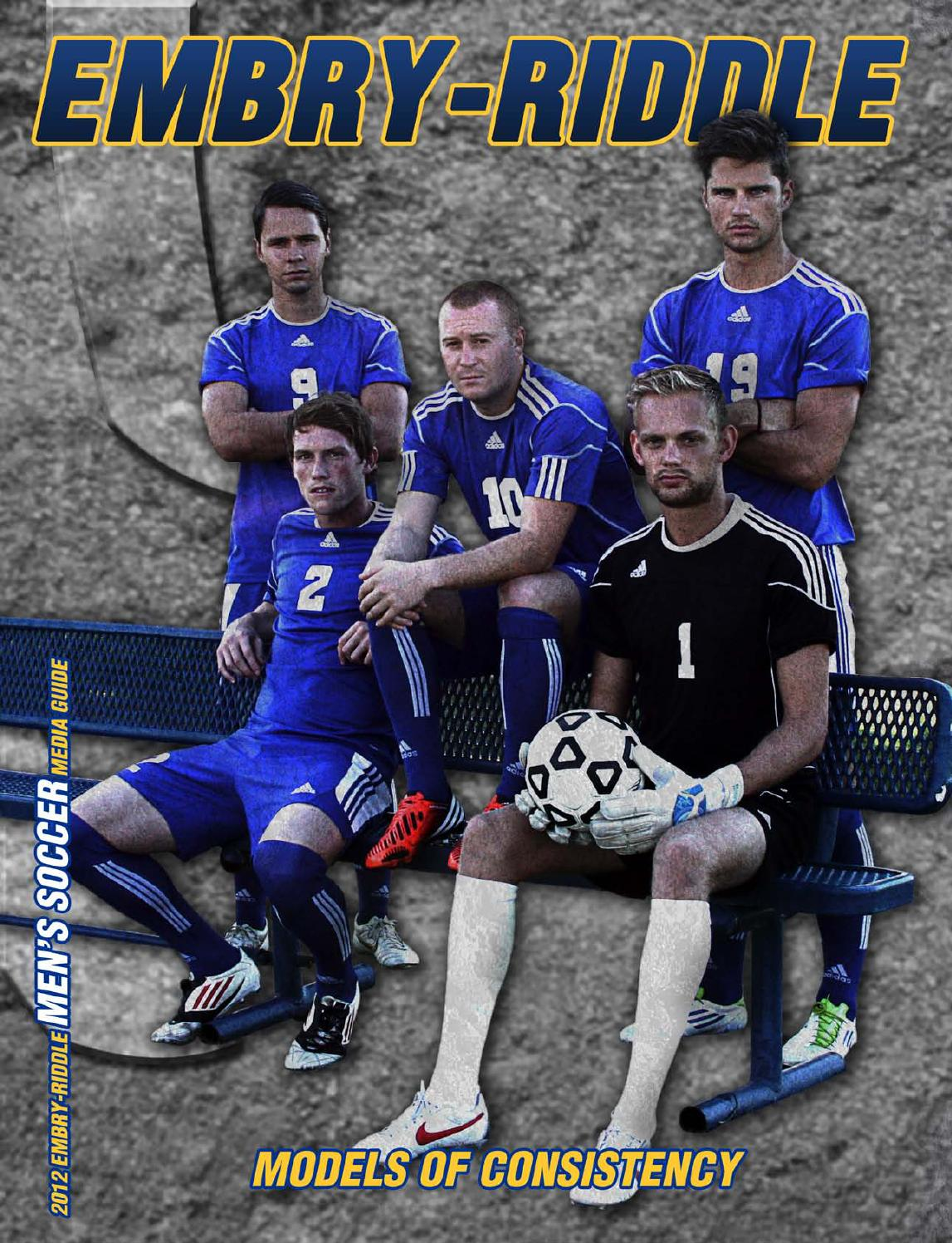 embry riddle 2012 men u0027s soccer media guide by embry riddle
