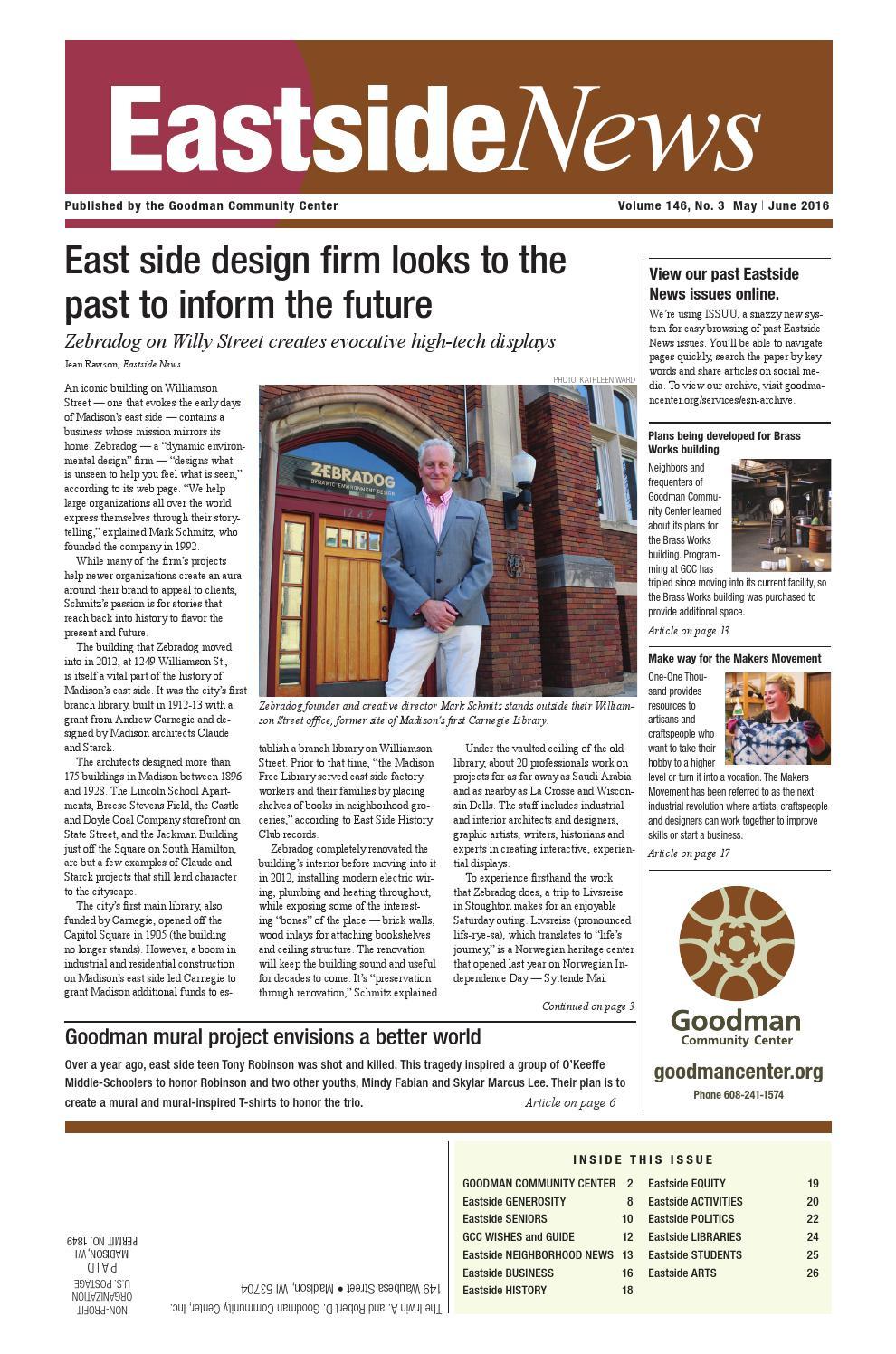 Solstice Swirl At Olbrich Botanical >> Eastside News May June 2016 By Eastside News Issuu