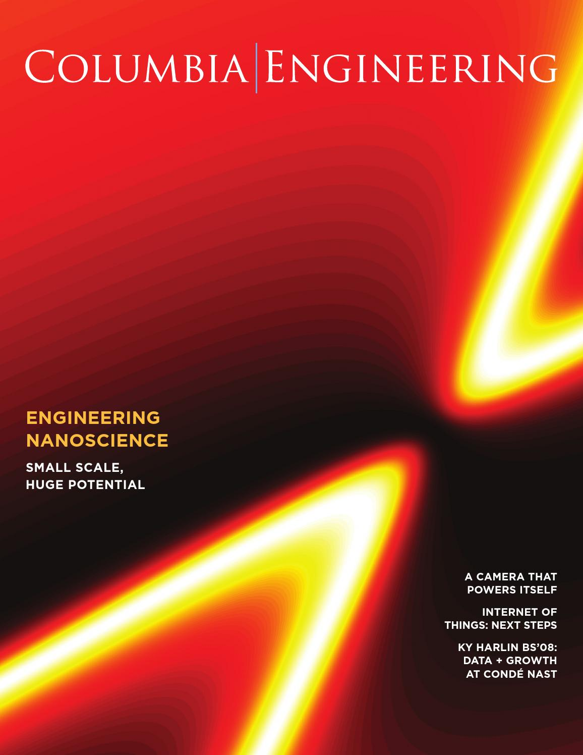 Columbia Engineering Magazine - Fall 2015 by Columbia ...